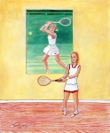 Chris Evert (24x20)
