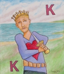 King of Hearts  (24x20)