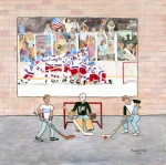 Miracle on Ice (24x24)