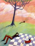 Picnic at the Swing (32x44)