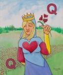 Queen of Hearts (24x20)
