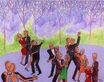 Spring Dance (40x32)