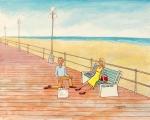 """Avon-by-the Sea (24"""" x 30"""")"""