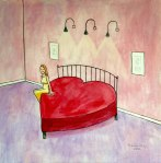 Valentine Bed (20 x 20)