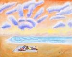 Cloud Like a Hand (24 x 30)